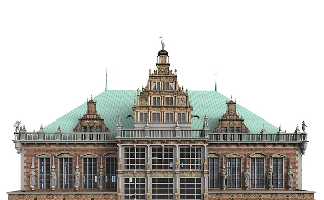 Building Town Hall Dome Architecture Church Bremen