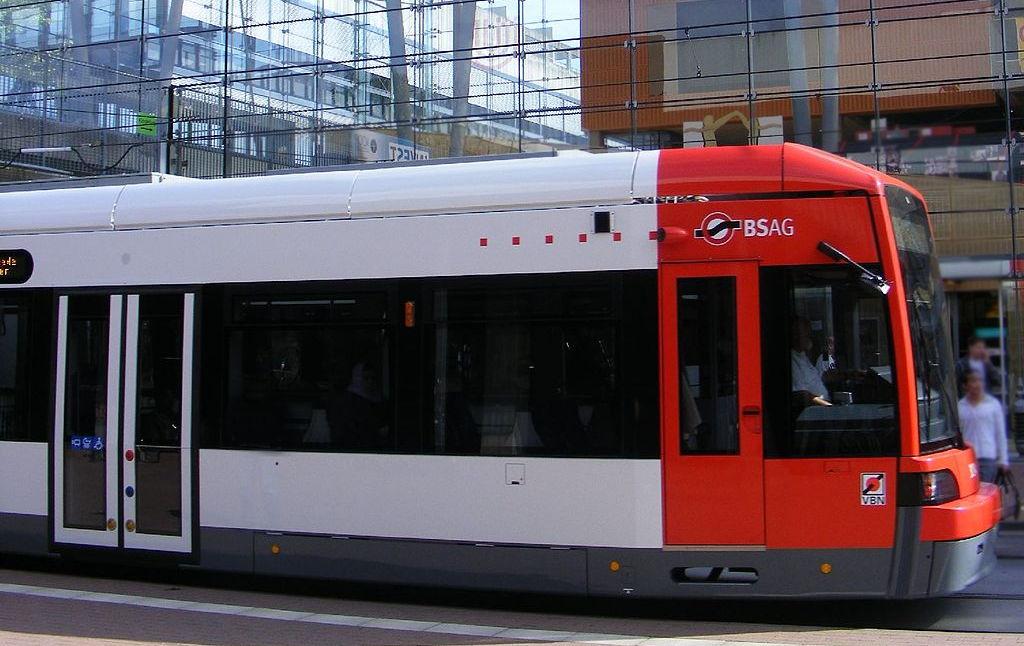 Tranvía en Bremen