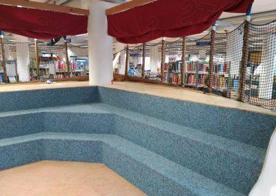 Biblioteca de Bremen - El barco pirata con gradas
