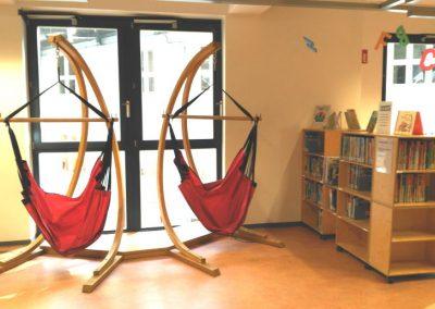 Biblioteca de Bremen - Hamacas para sentarse a leer