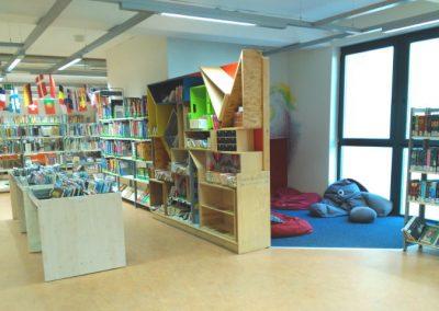 Biblioteca de Bremen - Rincon de lectura para más mayores