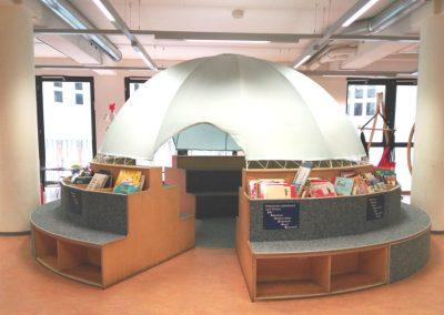 Biblioteca de Bremen - Zona de lectura cubierta