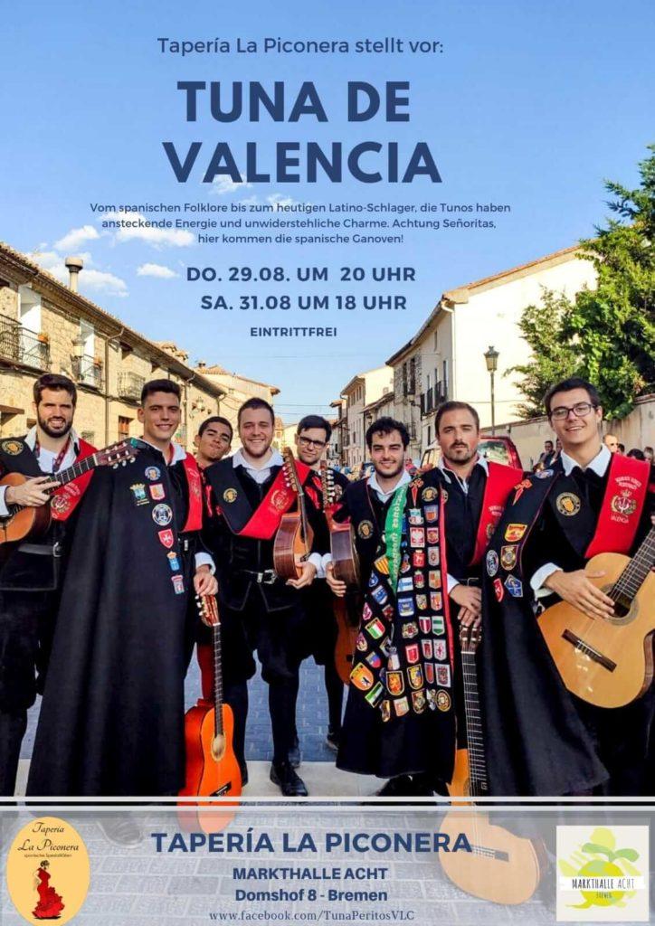 La tuna de Valencia en Bremen 2019